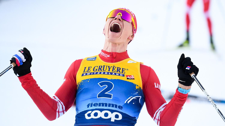 Большунов досрочно гарантировал себе победу в общем зачете Кубка мира по лыжам - фото