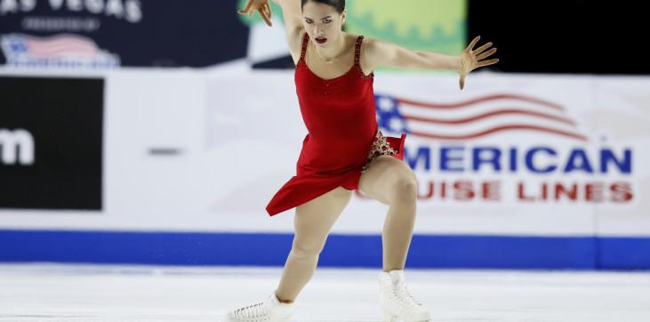 Константинова – предпоследняя по итогам короткой программы турнира в Петербурге, ей засчитали только один прыжок - фото