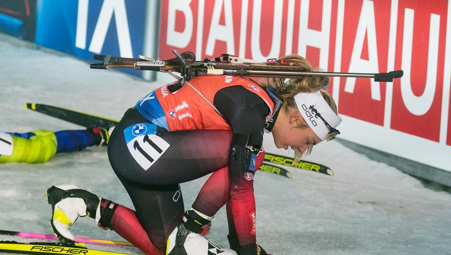 Биатлонистка обвинила «норвежского Губерниева» в том, что она не попала на подиум - фото