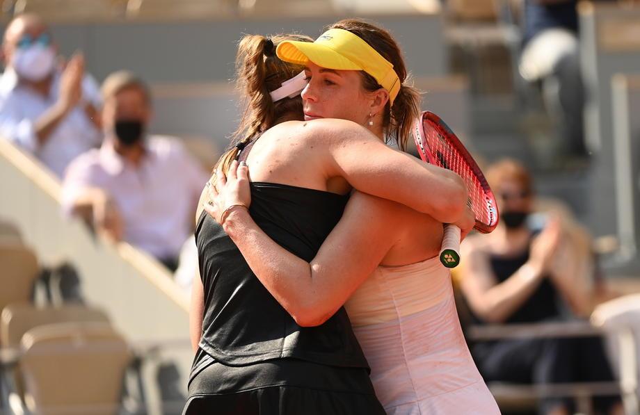Рыбакина и Павлюченкова проиграли в четвертьфинале парного «Ролан Гаррос» - фото
