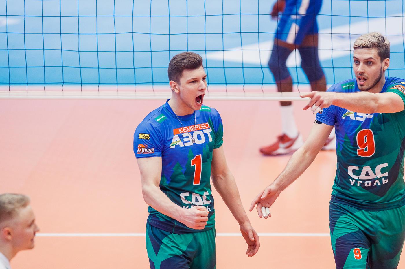 Казанский «Зенит» потерпел второе поражение в финальной серии Суперлиги - фото