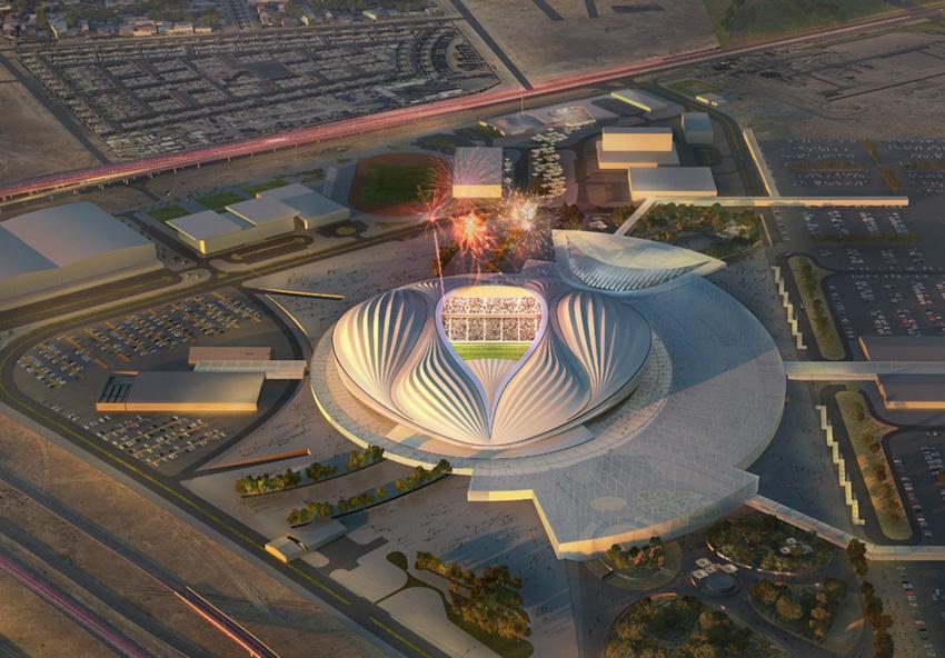 В Катаре открыт самый южный стадион ЧМ-2022 - фото