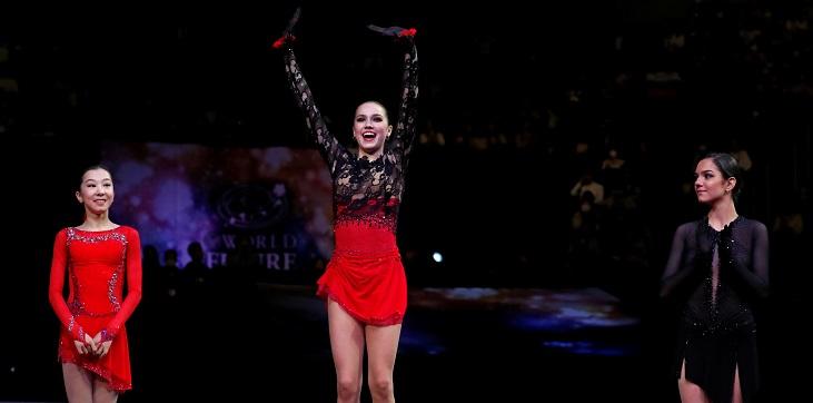Алина Загитова осталась чемпионкой мира - фото