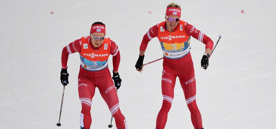 Сборная России завоевала серебро в женской эстафете чемпионата мира - фото