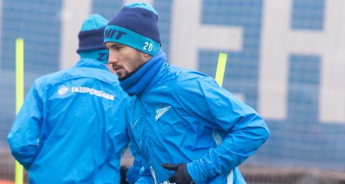 Сутормин и Терентьев вернулись к тренировкам с «Зенитом» - фото