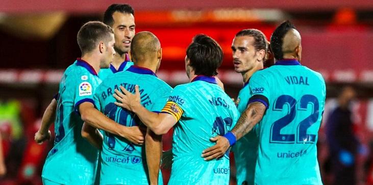 «Барселона» победила «Мальорку» и продолжает лидировать в чемпионате Испании - фото