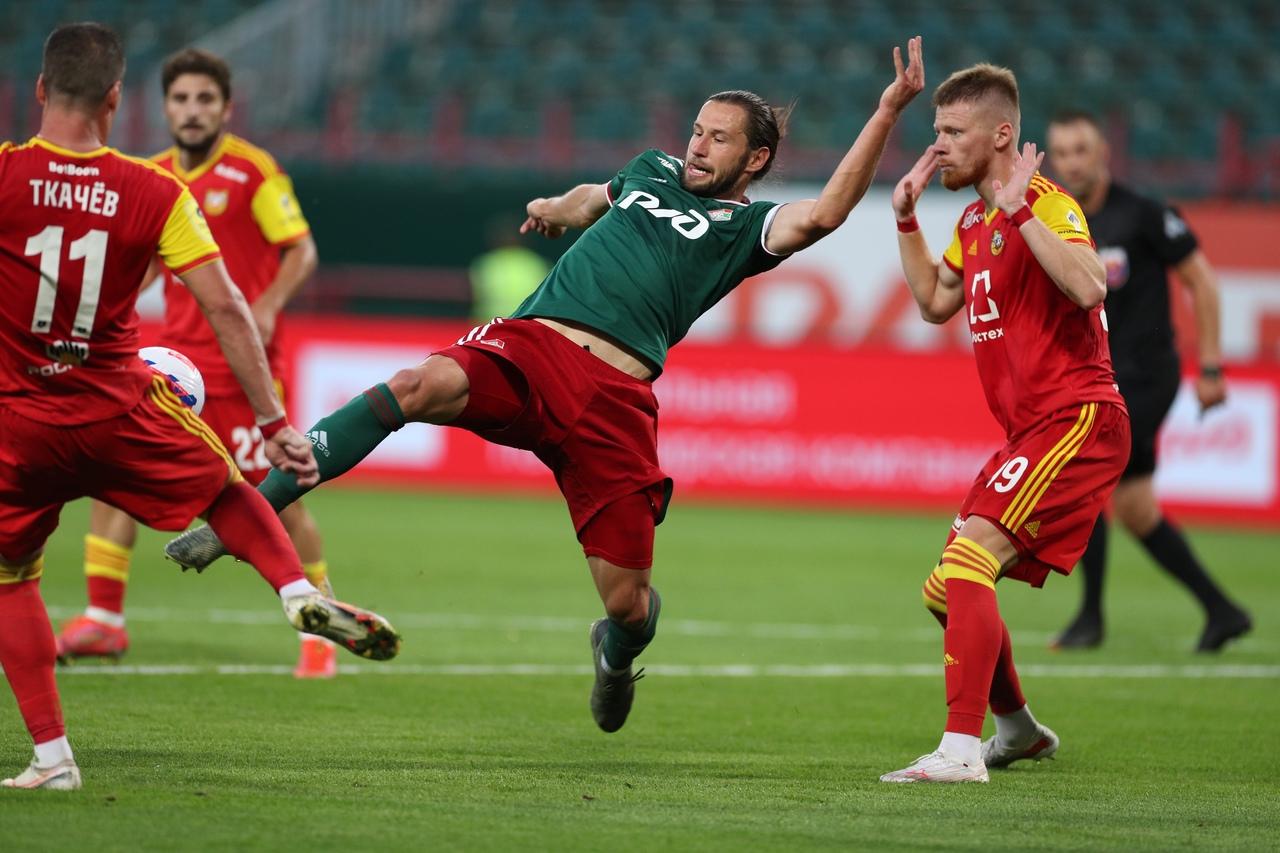 «Локомотив» одержал волевую победу над тульским «Арсеналом» - фото