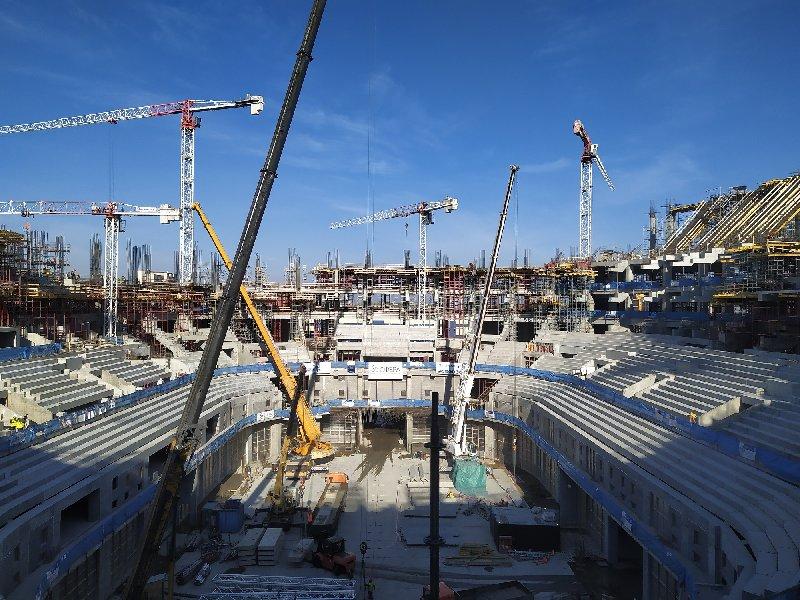 Гендиректор компании-подрядчика: Стремимся ввести «СКА Арену» в эксплуатацию к декабрю 2022 года - фото