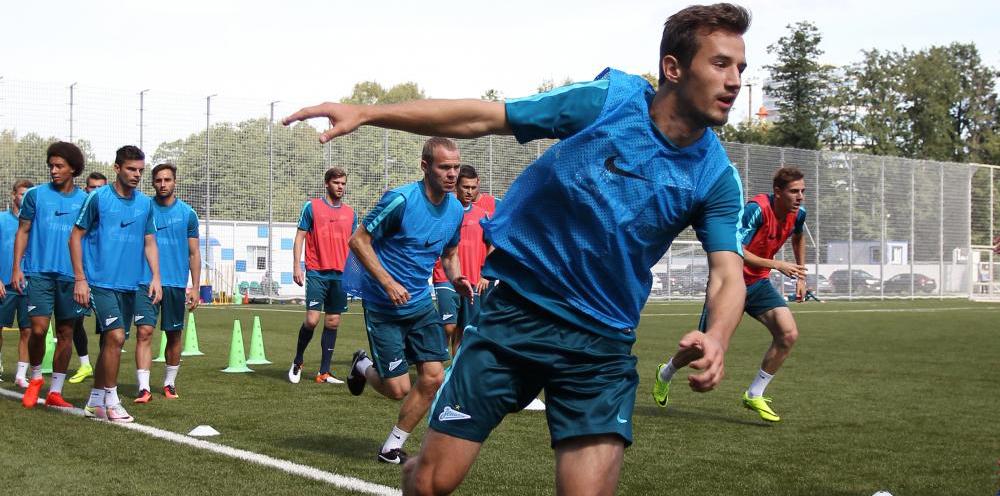 Защитник «Зенита» Вукашин Йованович: Где бы я ни был, хотел бы вернуться в «Зенит» - фото