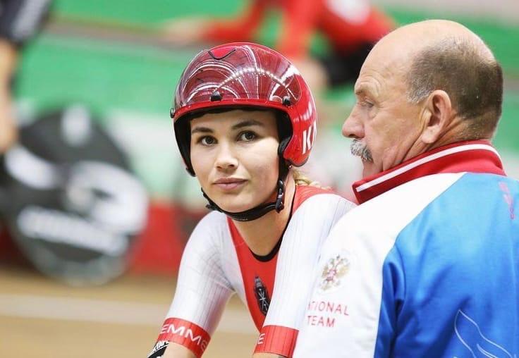 Хатунцева взяла золото в гонке на велотреке - фото