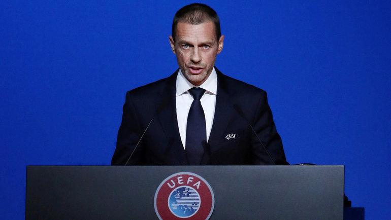 Чеферин подтвердил жесткие санкции для игроков, планирующих выступать в Суперлиге - фото