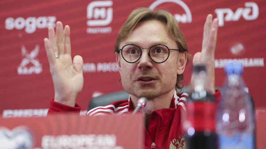 Карпин рассказал о тактике в матче со Словакией - фото