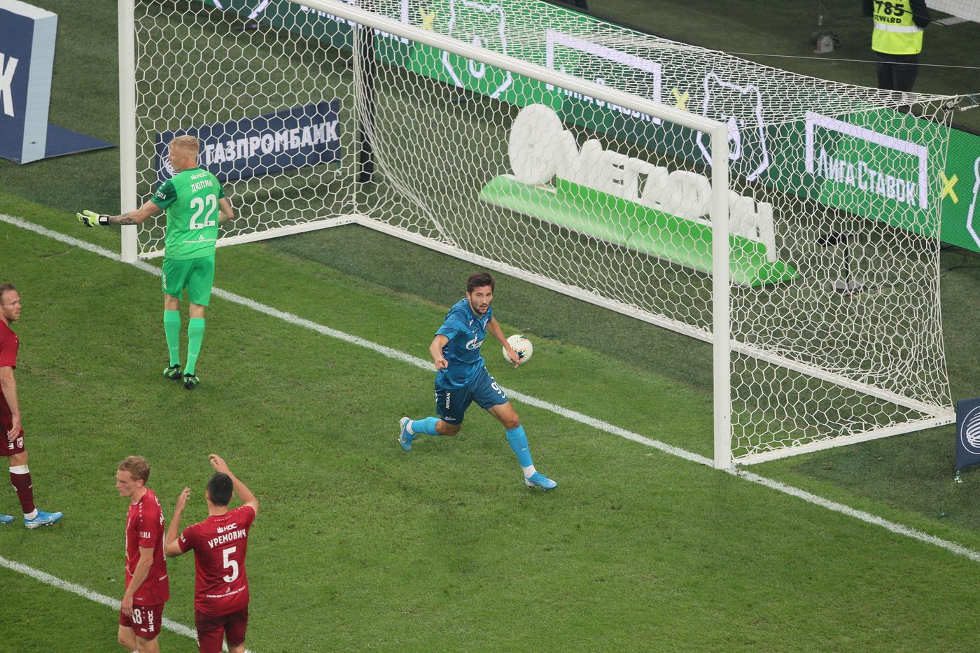 «Рубин» пропустил два гола от своей «легенды»: Сутормин начал отрабатывать трансфер в «Зенит» - фото