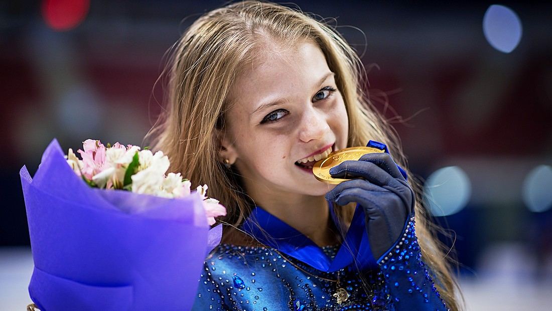 Юко Кавагути нашла правильную мотивацию у Александры Трусовой - фото