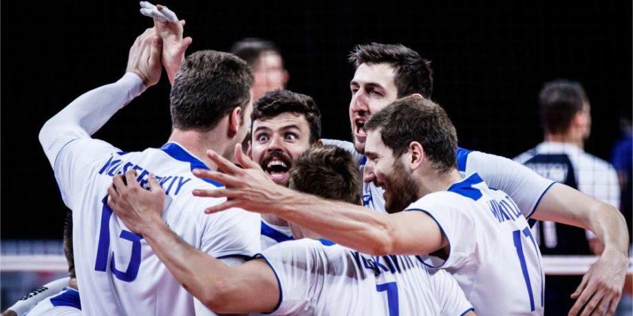 Российсикие волейболисты обыграли олимпийских чемпионов и вышли в финал - фото