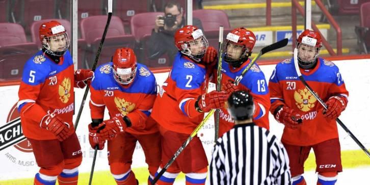 Юниорская сборная России победила Чехию на домашнем чемпионате мира - фото