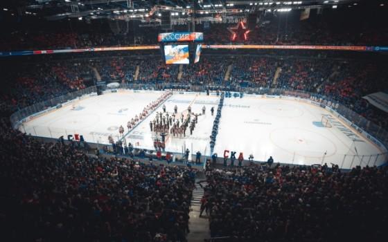 В Петербурге представили эмблему домашнего чемпионата мира по хоккею - фото