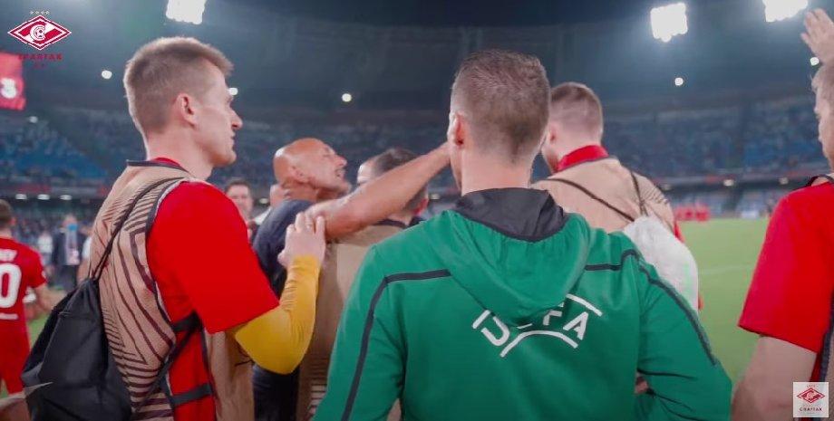 Стали известны пять слов, которые крикнул Спаллетти тренерской скамейке «Спартака» - фото