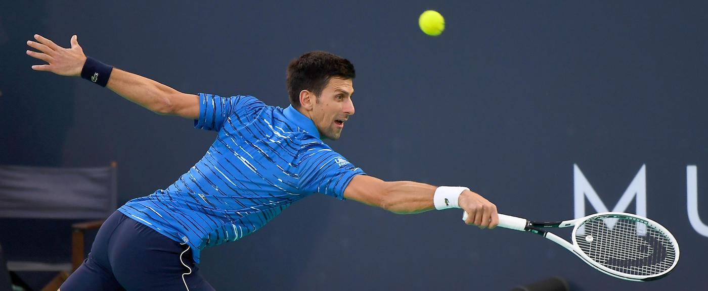 Джокович намерен побить рекорд Федерера по победам на турнирах «Большого шлема» - фото