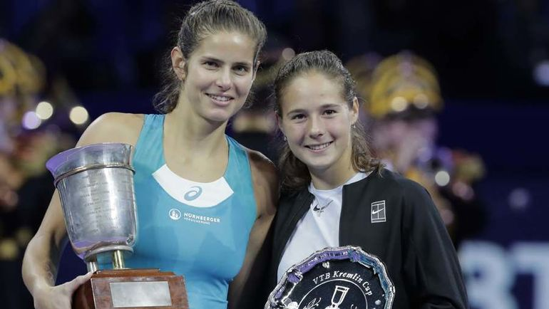 Гергес победила Касаткину в финале турнира «ВТБ Кубок Кремля» - фото