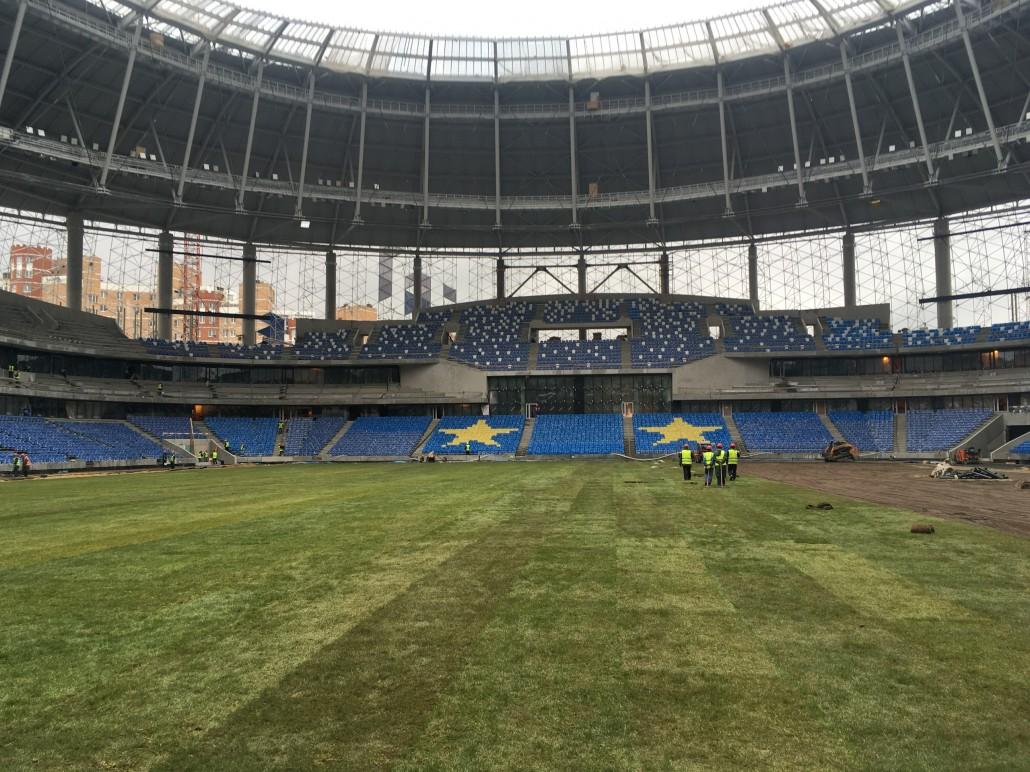 Эксперты РПЛ отметили улучшения газона «ВТБ Арены» - фото