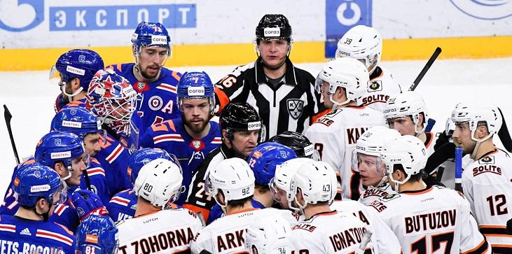 Брагин объяснил перестановки в СКА в победном матче с «Амуром» - фото