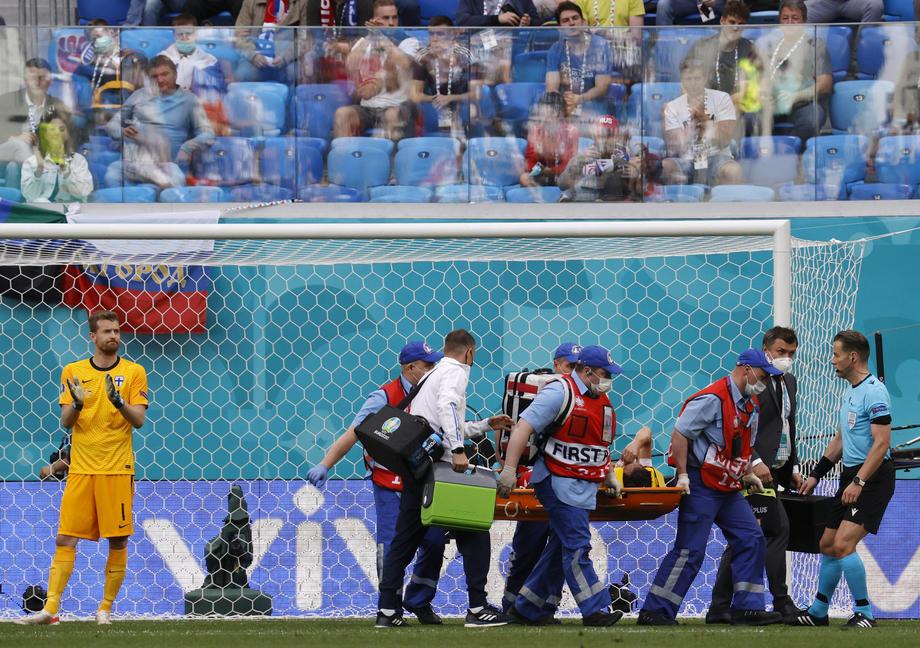 Стало известно, какую травму получил Марио Фернандес в матче России против Финляндии - фото