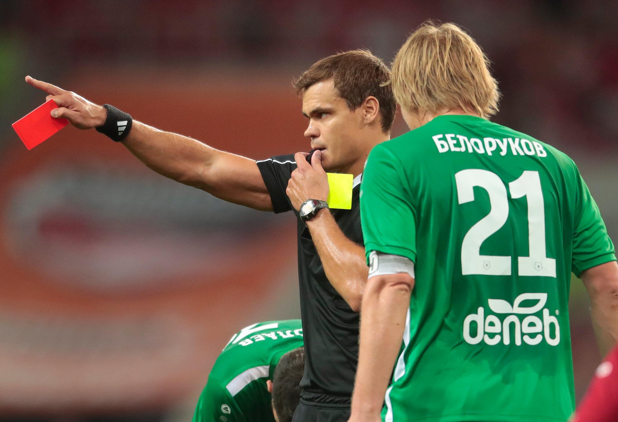 Белорукова дисквалифицировали на два матча за фол на Дзюбе и отказ от сотрудничества с КДК - фото