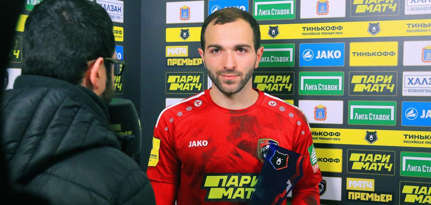 Мелкадзе забивает за «Тамбов», но у него ровно ноль шансов заиграть в «Спартаке» - фото