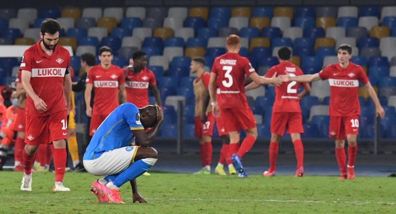 «Спартак» одержал волевую победу в матче с «Наполи» в Лиге Европы - фото