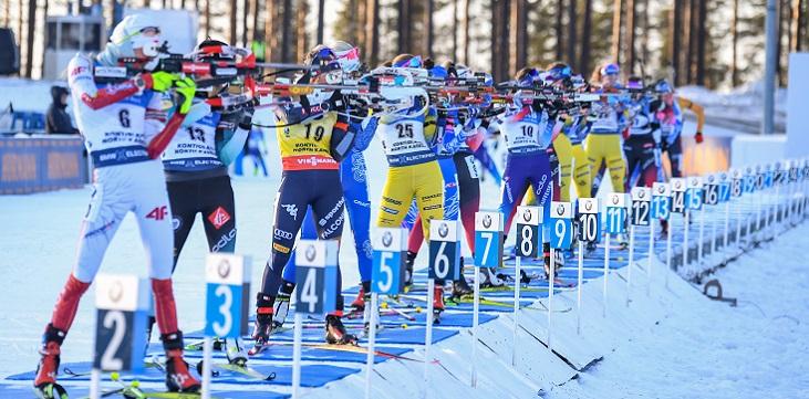 Первый канал и «Матч ТВ» поделили чемпионат мира по биатлону - фото
