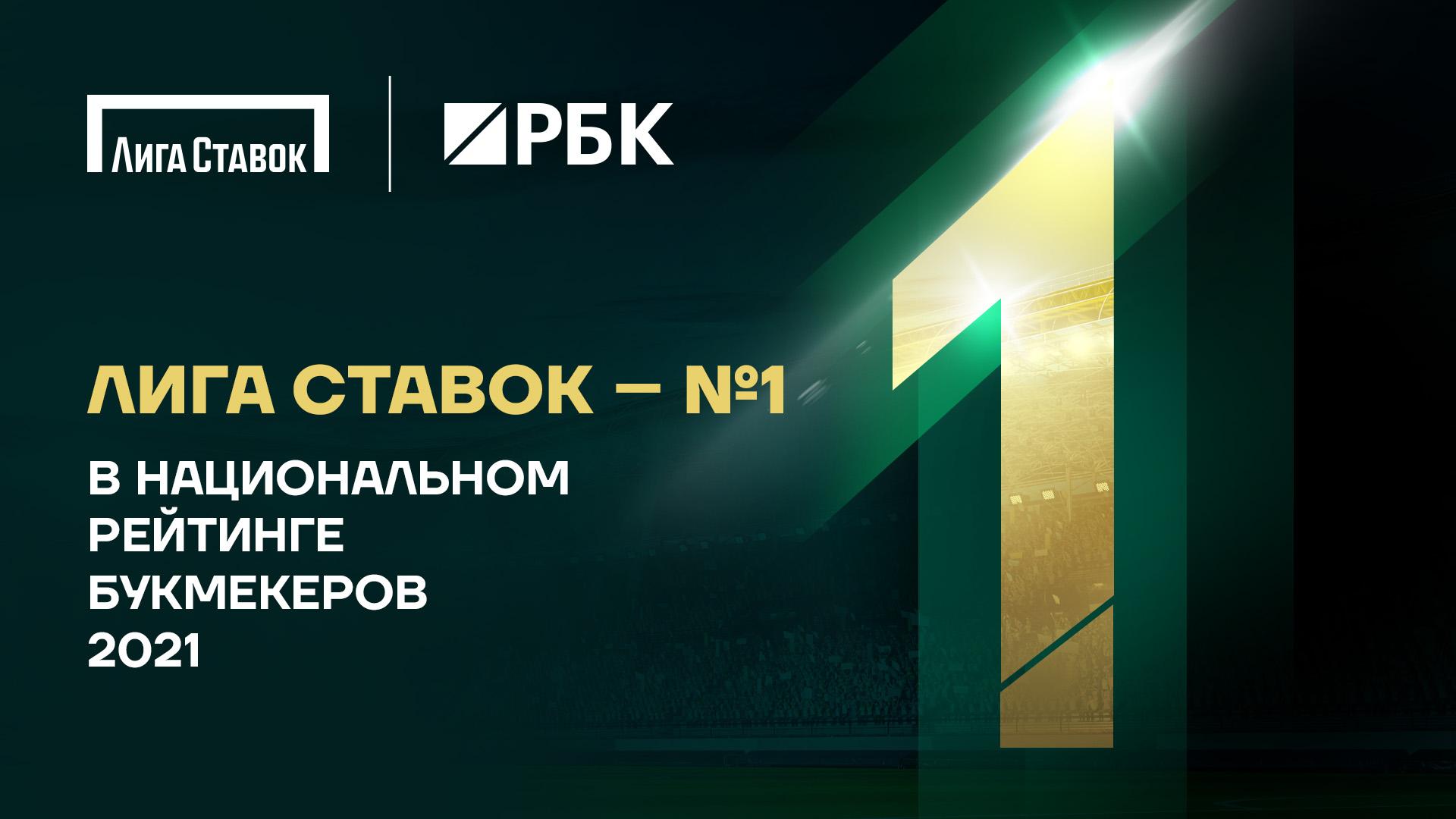 «Лига Ставок» возглавила Национальный рейтинг букмекеров - фото