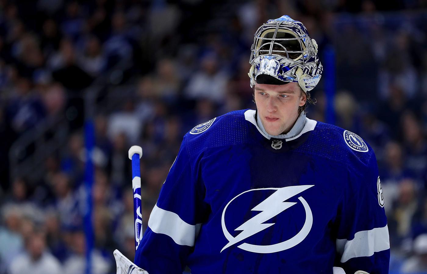 Андрей Василевский возглавил рейтинг лучших голкиперов НХЛ по версии NHL Network, Худобин – в десятке - фото