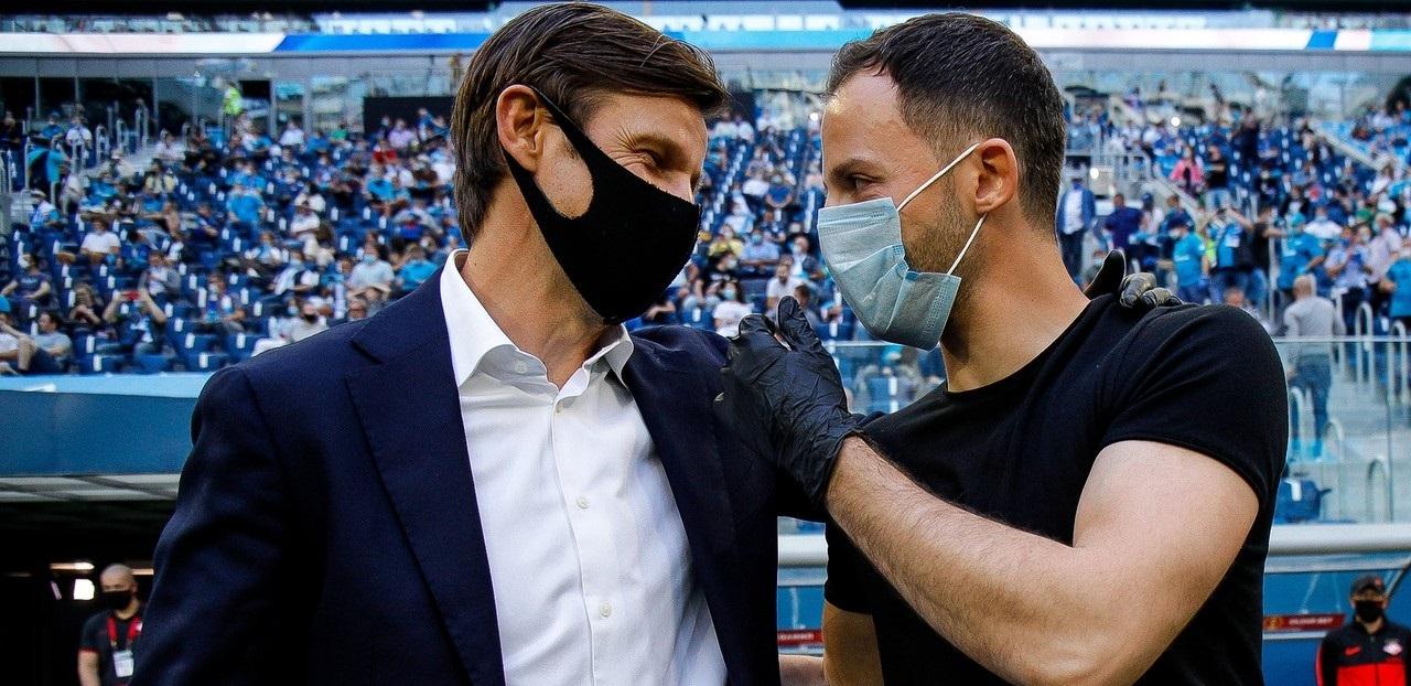 Фанаты «Спартака» требуют, чтобы Сергей Семак оставался тренером «Зенита». Зачем им это? - фото