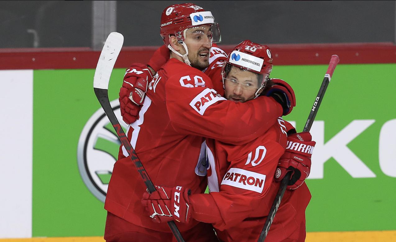Россия обыграла Данию на чемпионате мира - фото