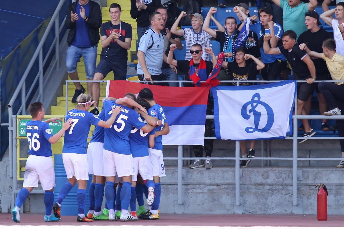 «Динамо» отпраздновало возвращение в Петербург победой над Писаревым - фото