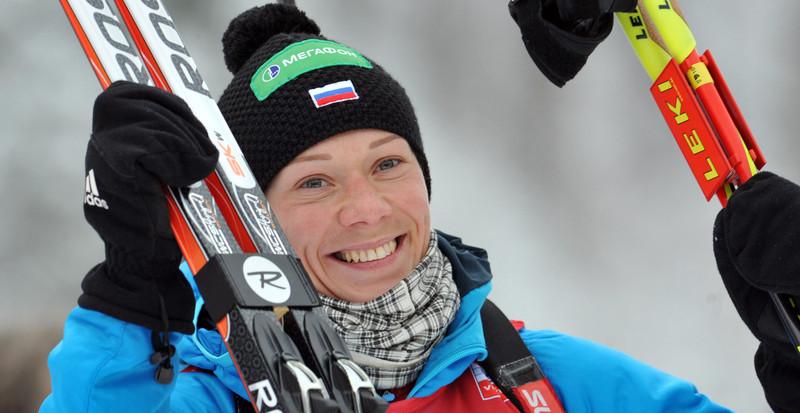 Ольга Зайцева прокомментировала победу женской сборной в эстафете - фото