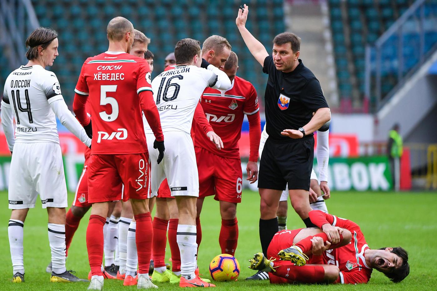 В РПЛ признали ошибку Вилкова в матче «Краснодар» - «Локомотив» - фото