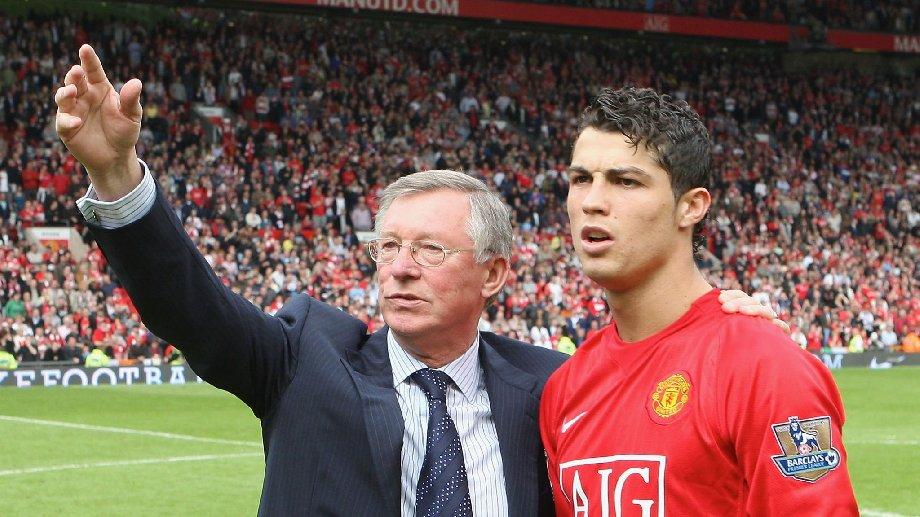 Алекс Фергюсон сыграл решающую роль в переходе Роналду в «Манчестер Юнайтед» - фото
