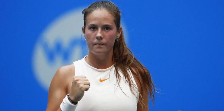 Касаткина впервые в сезоне выиграла три матча подряд - фото
