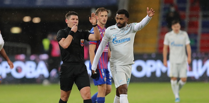 ЭСК подтвердила решение Кукуляка не засчитывать гол «Зенита» в ворота ЦСКА - фото