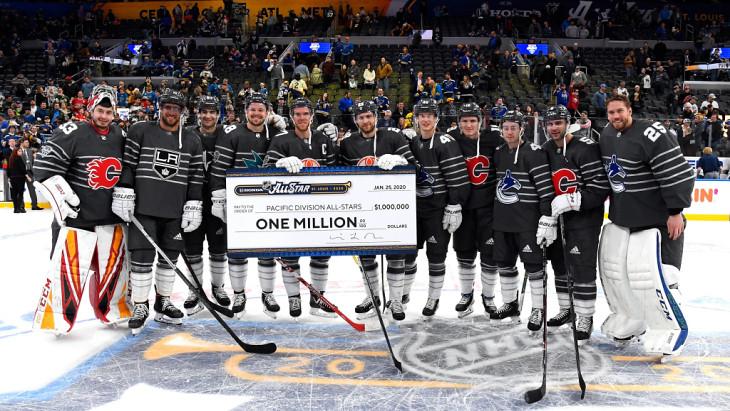 Тихоокеанский дивизион обыграл Атлантический в финале Матча звезд НХЛ - фото