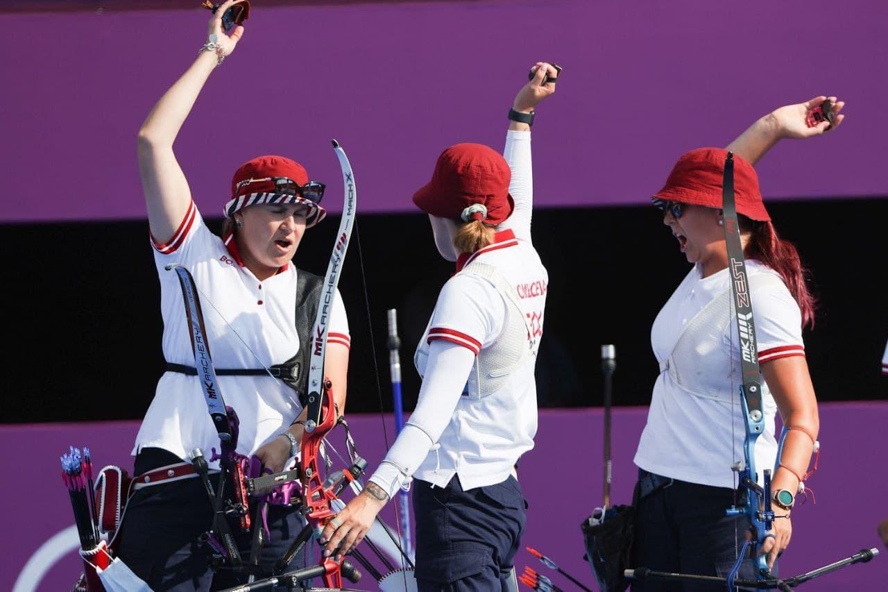 Тренер сборной России прокомментировал серебряные медали лучниц на Олимпиаде - фото