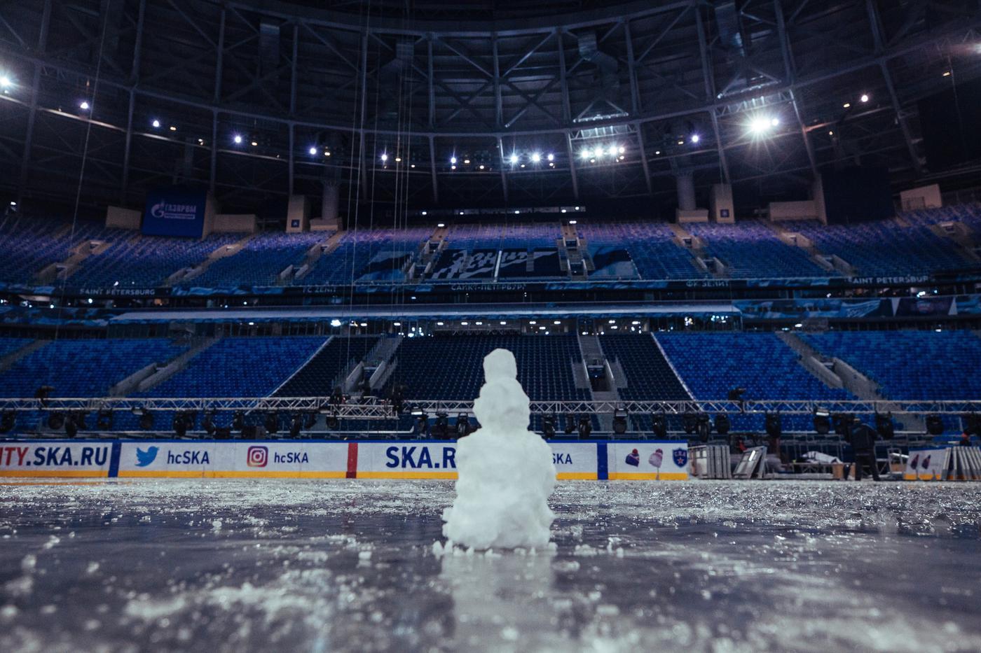 Почему «Газпром Арена» не подходит для «Зимней классики» - фото