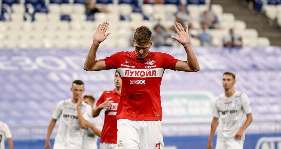 Бывший тренер Соболева считает, что форвард сможет вернуться в стартовый состав «Спартака» - фото