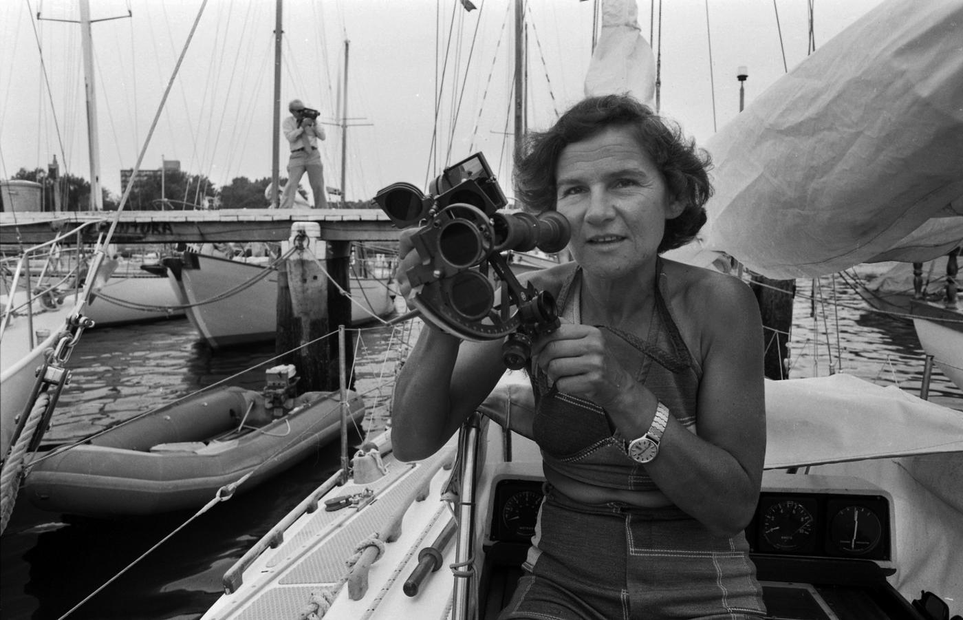 Огонь над морем и цирк на завтрак: как польская яхтсменка восхитила весь мир - фото