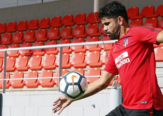 Коста начал тренировки с «Атлетико» - фото