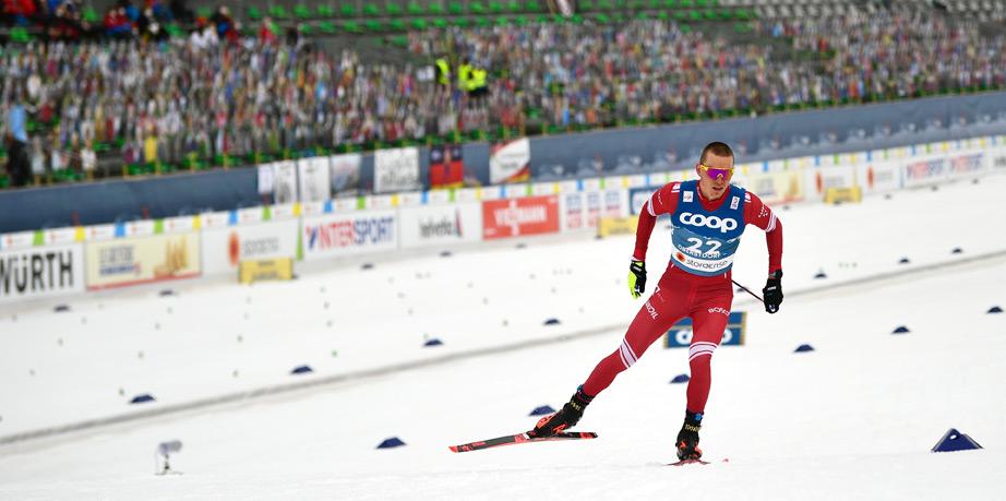 Большунов попал в состав мужской эстафеты на чемпионате мира - фото