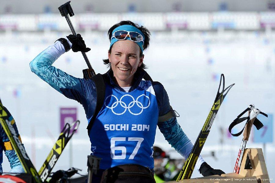 Российская биатлонистка Мария Дербушева взяла бронзу на чемпионате мира - фото
