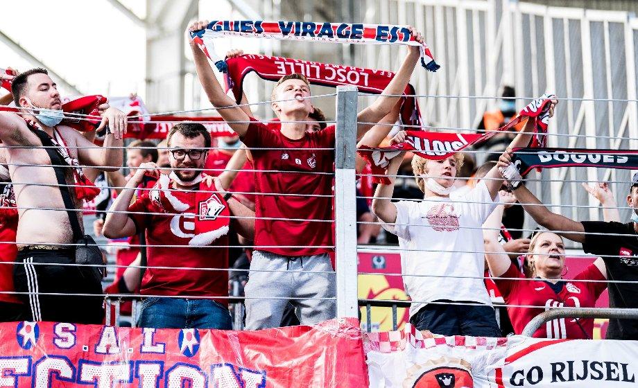 Во Франции снова скандал с фанатами: драка на матче «Ланс» – «Лилль»  - фото